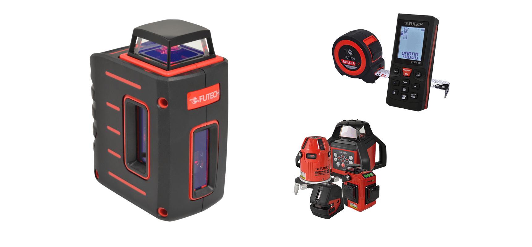 Mjerni instrumenti za graditeljstvo – laserski niveliri i daljinomjeri